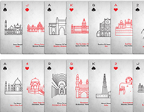 PLAYING CARDS_ INDIAN MONUMENTS