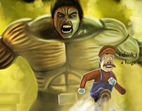 Hulk Vs Mario