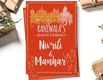 Nivriti & Manhar (Wedding Invite)