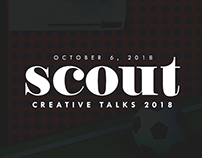 Scout Creative Talks 2018 Magazine Covers