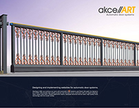 Akceart™ Automatic Door System Web Design