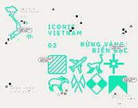 #iconicVietnam 02 - Rừng Vàng Biển Bạc