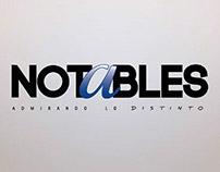 """Animación Digital """"Notables"""""""