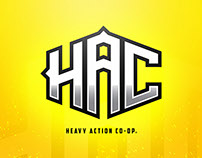 Heavy Action Co-Op (Branding)
