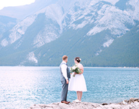 Romantic Rocky Mountain Elopement