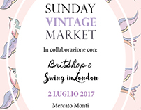 Sunday Vintage Market flyer