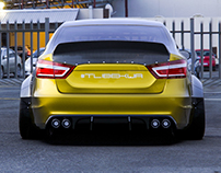 Lada Vesta Widebody Kit 2.0
