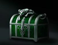 treasure chest with pantera