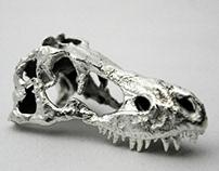 Trex Silver Skull