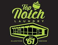 Top Notch Laundry T-Shirt Design