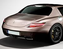 Mercedes AMG SLS | CGI