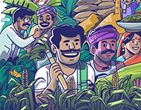 Raitha -Landing Screen illustration