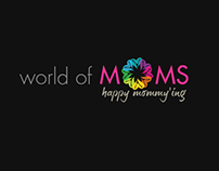worldofmoms - LOGO DESIGN