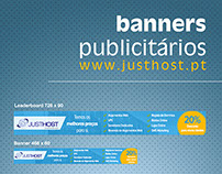 Banners Publicitários JustHost