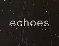 """Echoes"" — Music Poster"