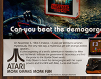 Stranger Things - Atari 2600 Advertising