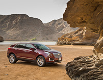 Cadillac XT5 - GM Middle East PR campaign