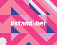 #stand4her|A project of AVON|International Woman´s Day