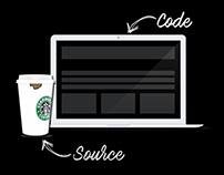 Source. Code. Illustration