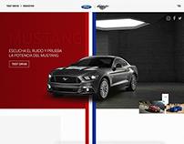 Mustang Concept Website
