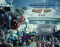 Arsenal × Barcelona