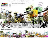 Mexico Square competition. 2009