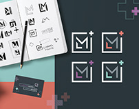 Learning Moore Brand Identity + Collateral