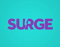 SURGE Logo Design