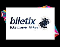 Biletix Ticketmaster Mobile Application Design