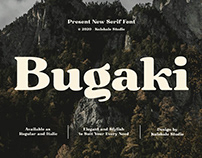 Bugaki - Serif