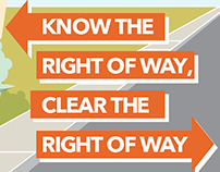 Know the Right of Way, Clear the Right of Way
