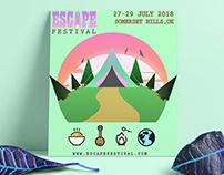Escape Festival - Branding