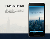 Hospital Finder iOS/Android Application
