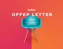 Offer Letter | Isobar - Iprospect