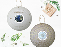 MIT Holiday Ornament Card