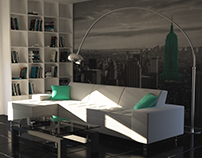 Living room viz