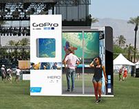 Go. - A Pop-Up Shop Concept for GoPro
