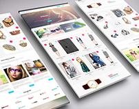 PLUS POINT   E-commerce psd theme