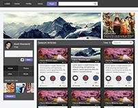 FRB Page UI design