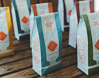 Cozzee Coffee Brand, Packaging, & Website