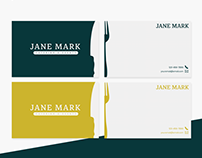 Profession Business Cards - Chef/Catering