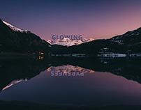 Glowing Pyrenees