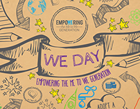 We Day Notebook