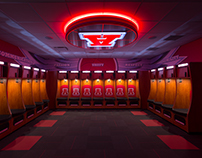 Arrowhead Basketball Locker Room