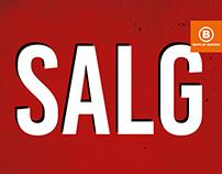 SALE – SALG / Boys of Europe
