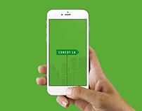 """Comedy LA - a """"work in progress"""" mobile app"""