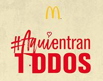 #AquiEntranTodos by McDonald's™