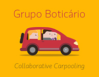 Grupo Boticario - Collaborative Carpooling