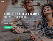 Mint Theme for Creatives