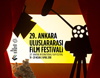 29. Ankara Uluslararası Film Festivali Posteri